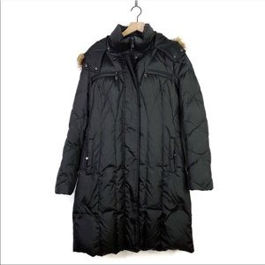 Marc Andrew Marc Black Quilted Trench Puffer Coat